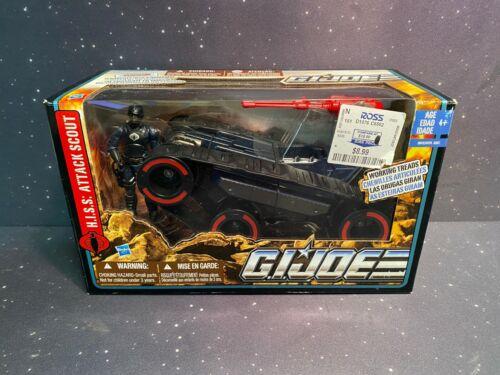 2009 Hasbro GI Joe Pursuit of Cobra  H.I.S.S Attack Scout w Driver Sealed