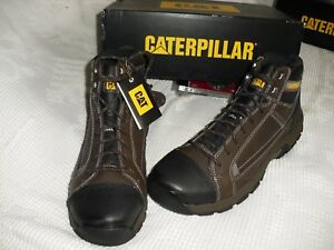 9dae635a7a4 Details about CATERPILLAR MEN'S SAFETY BOOTS #P90463 SLIP RESISTANT, STEEL  TOE, NEW-11.5 W