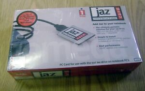 Iomega-Jaz-PCMCIA-to-Fast-SCSI-II-Adapter-PC-Card-Cable-Kit-in-Box