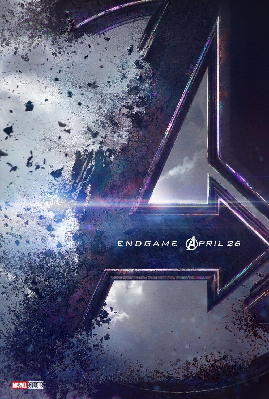 "Avengers Endgame Set of 2 Posters 48x32/"" 36x24/"" 4 2019 Movie Film Print Silk"