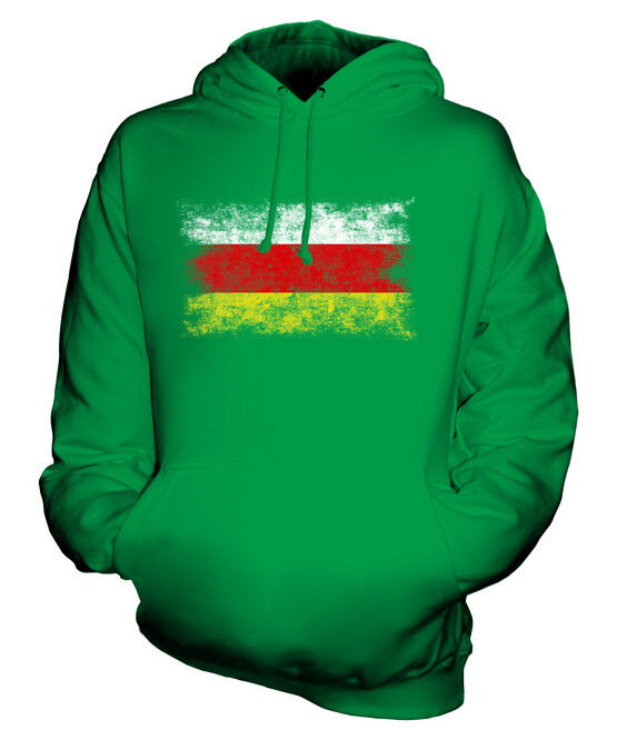 NORTH OSSETIA DISTRESSED FLAG UNISEX HOODIE TOP GIFT  CLOTHING JERSEY