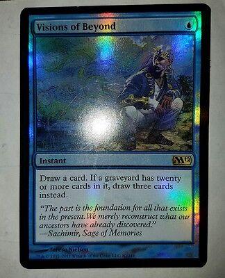 M12 Magic the Gathering Card NM x1 Visions of Beyond Magic