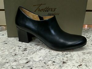 TROTTERS-PENNY-IN-BLACK-ALL-LEATHER-034-SHOOTIE-034-REG-170