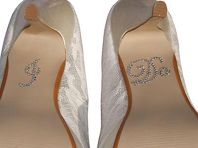 Nuevo Hago Cristal Estrás Diamante Boda Zapato Pegatina Adhesivo Zapatos De Novia