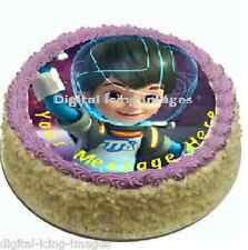 Cake topper edible digital image icing Miles from tomorrowland REAL FONDANT 19cm