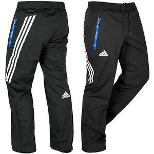 Adidas-GORE-TEX-Herren-Outdoor-Regen-Hose-Wanderhose-Ski-Hose-GTX-Pant-039-s-schwarz
