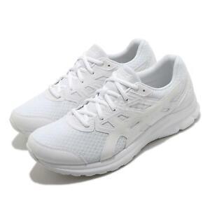 Asics Jolt 3 4E Extra Wide Triple White Men Running Training Shoes 1011B041-101