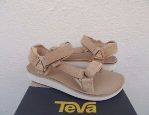 396fb1db4a5 Image is loading TEVA-TAN-ORIGINAL-UNIVERSAL-PREMIER-LEATHER-SANDALS-WOMEN-