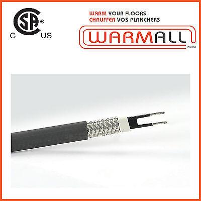 Self-Regulating Heat Cable 13mm 10 Watts 500 Feet 120V/240V