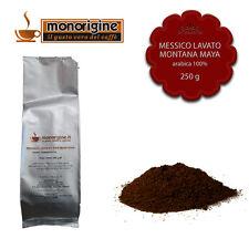 Caffè Arabica macinato fresco per espresso Messico Lavato SHG Montana Maya 250gr