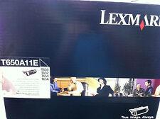 Original Lexmark Tóner T650A11E T650 T652 T654 T650N T652N DN nuevo B