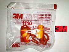 3M Ear Plugs 3 Sets Polyurethane based Noise Reduction - Free Ship to All India