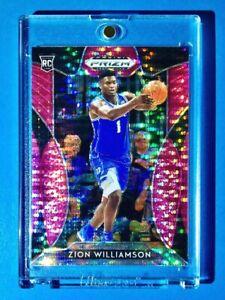 Zion-Williamson-PINK-PULSAR-REFRACTOR-ROOKIE-PANINI-PRIZM-DRAFT-PICKS-RC-64