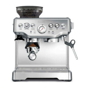 Breville the Barista Express Espresso Machine, BES870XL,Refurbished (Renewed)