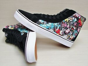 Vans SK8 Hi Reissue Disney Rabbit Hole Black VN-0003Z3HSS Men  Size ... 7601bd0eff5cd