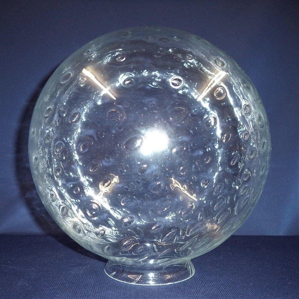 Blasenglas Ersatzglas Kugel, Glas für Außenleuchten Ø300mm, Kragen Ø100mm    Erste in seiner Klasse