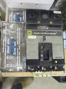 100 AMP 3 POLE 480V ILINE CIRCUIT BREAKER SQUARE D FAB34100 WARRANTY GREY