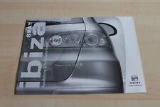 119663) Seat Ibiza - technische Daten & Ausstattungen - Prospekt 11/2003