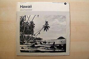 """10"""" EP / LP - DAS LIED DER VÖLKER - HAWAI -  KALEI-O-KUAIHELANI - ANSCHAUEN"""