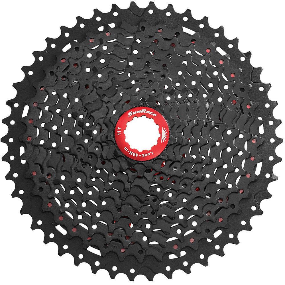 SUNRACE KASSETTE MTB CSMX3 11-42 10 FACH black