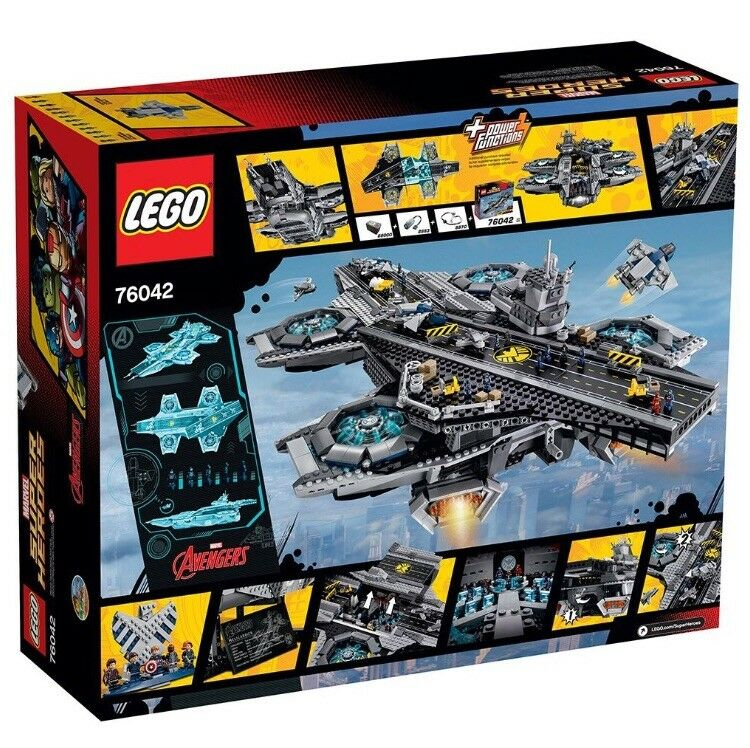 LEGO Super Super Super Heroes The SHIELD Helicarrier (76042) 10ef02