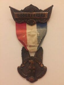 1908-Democratic-National-Convention-William-Jennings-Bryan-Doorkeeper-Badge