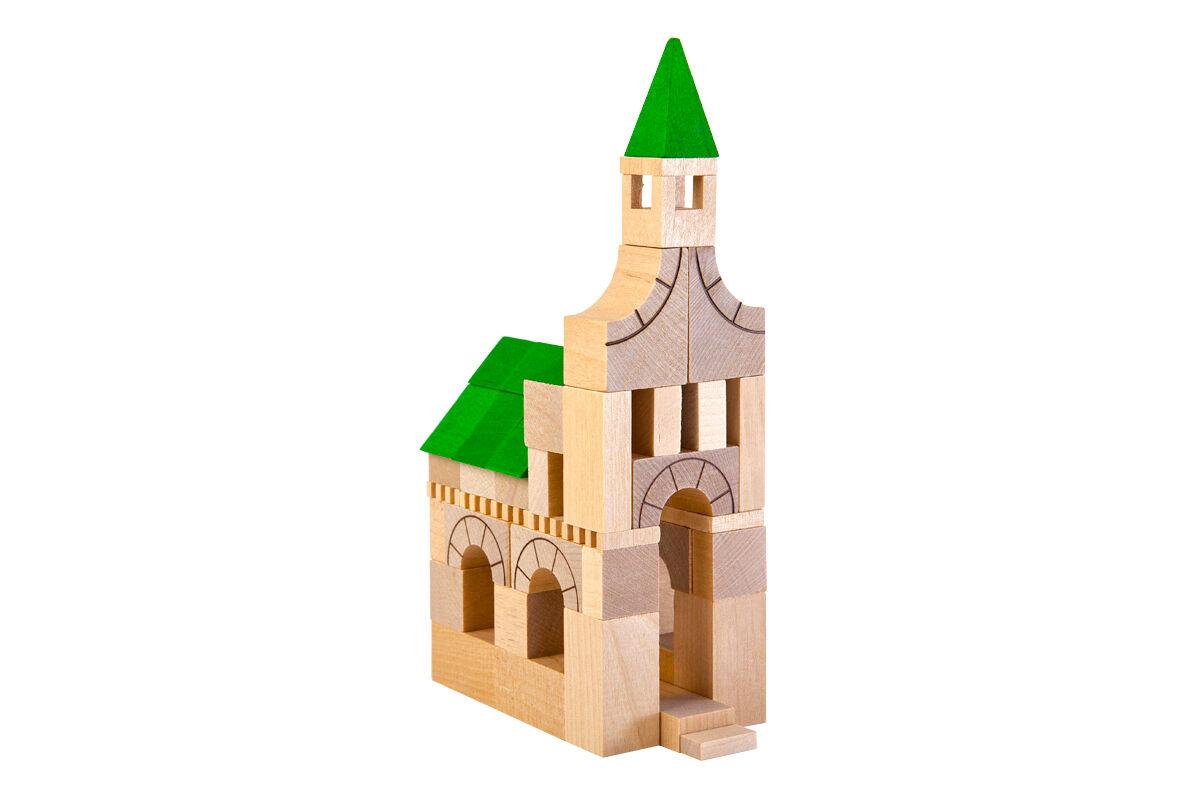 Baukasten Schloss Bausteine Bauklötze Konstruktionsspielzeug, Varis Toys  | Erste Klasse in seiner Klasse