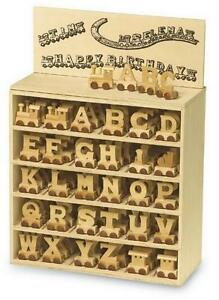 NEW-Wooden-Alphabet-Train-Letters-Gift-Birthday-Set-Toy