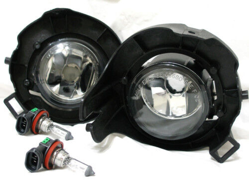 For 05-10 Frontier Pathfinder Glass Fog Light Lamp RL H  Pair W//Bulbs NEW