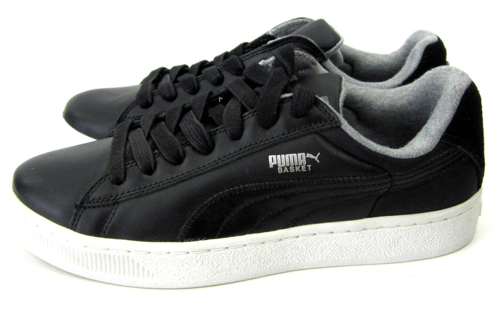 Puma scarpe Basket Basket Basket RLS Retro Leather nero bianca grigio scarpe da ginnastica Dimensione 8 a1e716