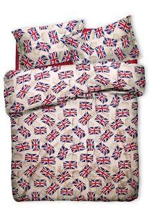 Piumone Singolo Bandiera Inglese.Dettagli Su Copripiumino 1 Una Piazza Singolo Bandiera Inglese Inghilterra England