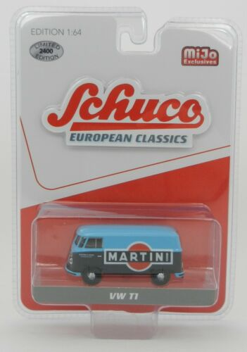 1:64 SCHUCO European Classics *MARTINI* VW T1 Panel Van *MiJo* NIP