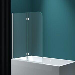 Duschwand Badewanne Duschabtrennung Badewannenaufsatz Faltwand Esg Nano C1408 Ebay