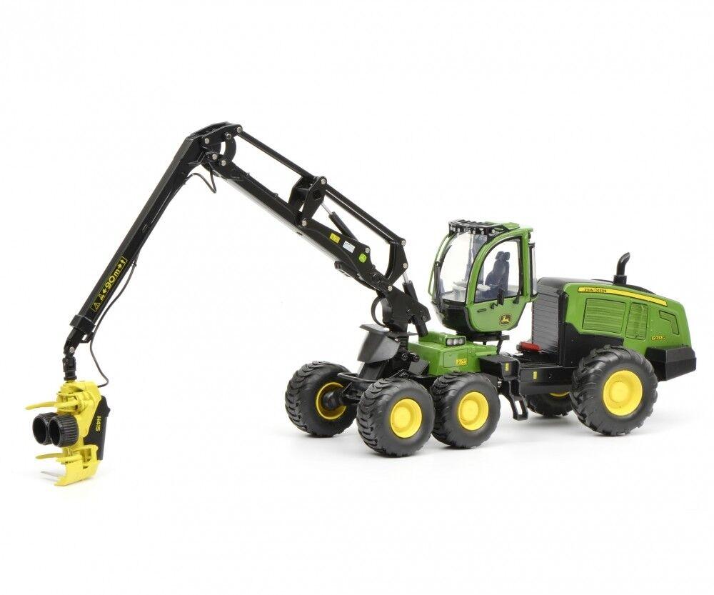 450775900 - SCHUCO John Deere Harvester 1270g 6w-verde - 1 32