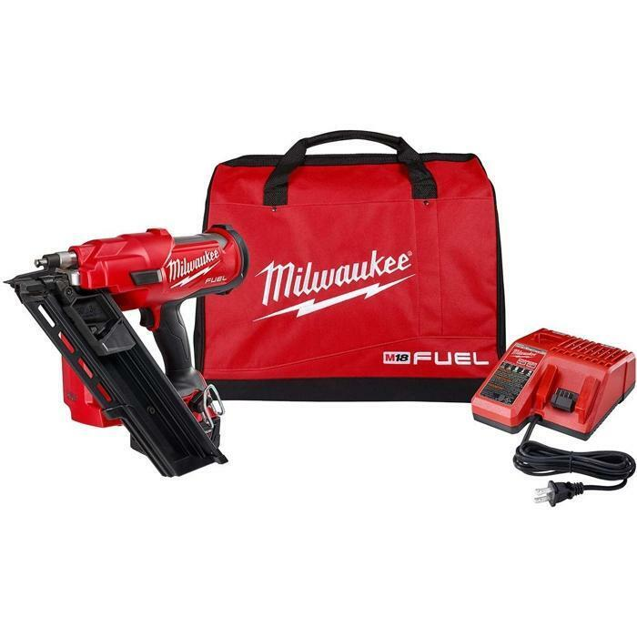 Milwaukee 2745-21 M18 FUEL 30 Degree Framing Nailer Kit  New. Buy it now for 449.00