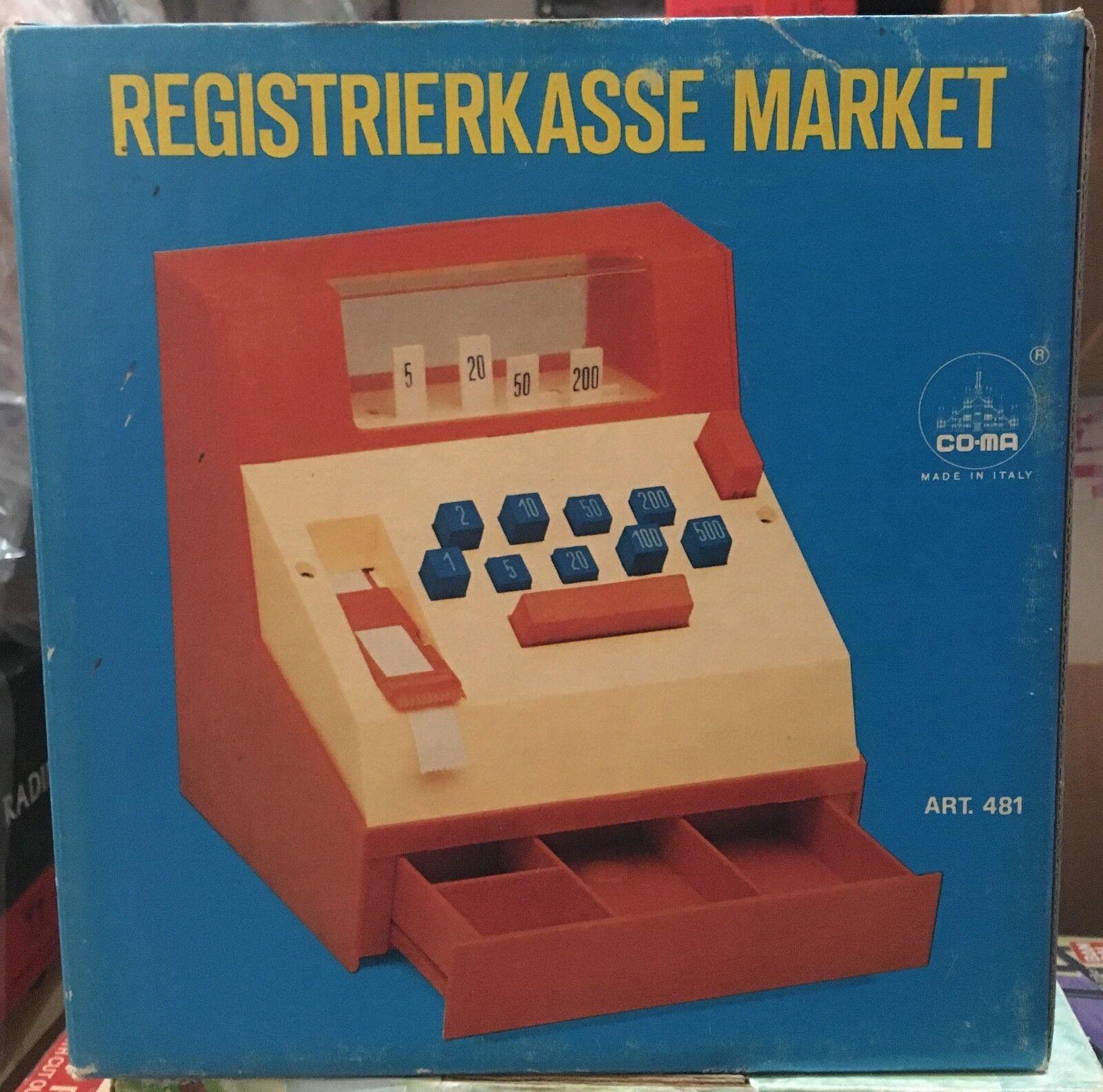 Cassa Market CO-MA Vintage anni 70'