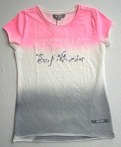 140-176  UVP 25,99 € Blue EFFECT Girls T`Shirt 1//2 Arm Silber Paillentten  Gr