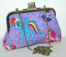 MY LITTLE PONY EVENING HANDBAG RAINBOW DASH PINKIE PIE PROM brony LAST ONE!