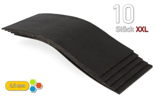 10 bitume xxl 4,5mm bitume de Coffre//1m²//isolation pour toutes les pièces métalliques-bx4510