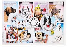 Funny Welsh Rabbit Tea Towels 2 100/% Cotton Free P/&P Simon Drew Pack Of Two