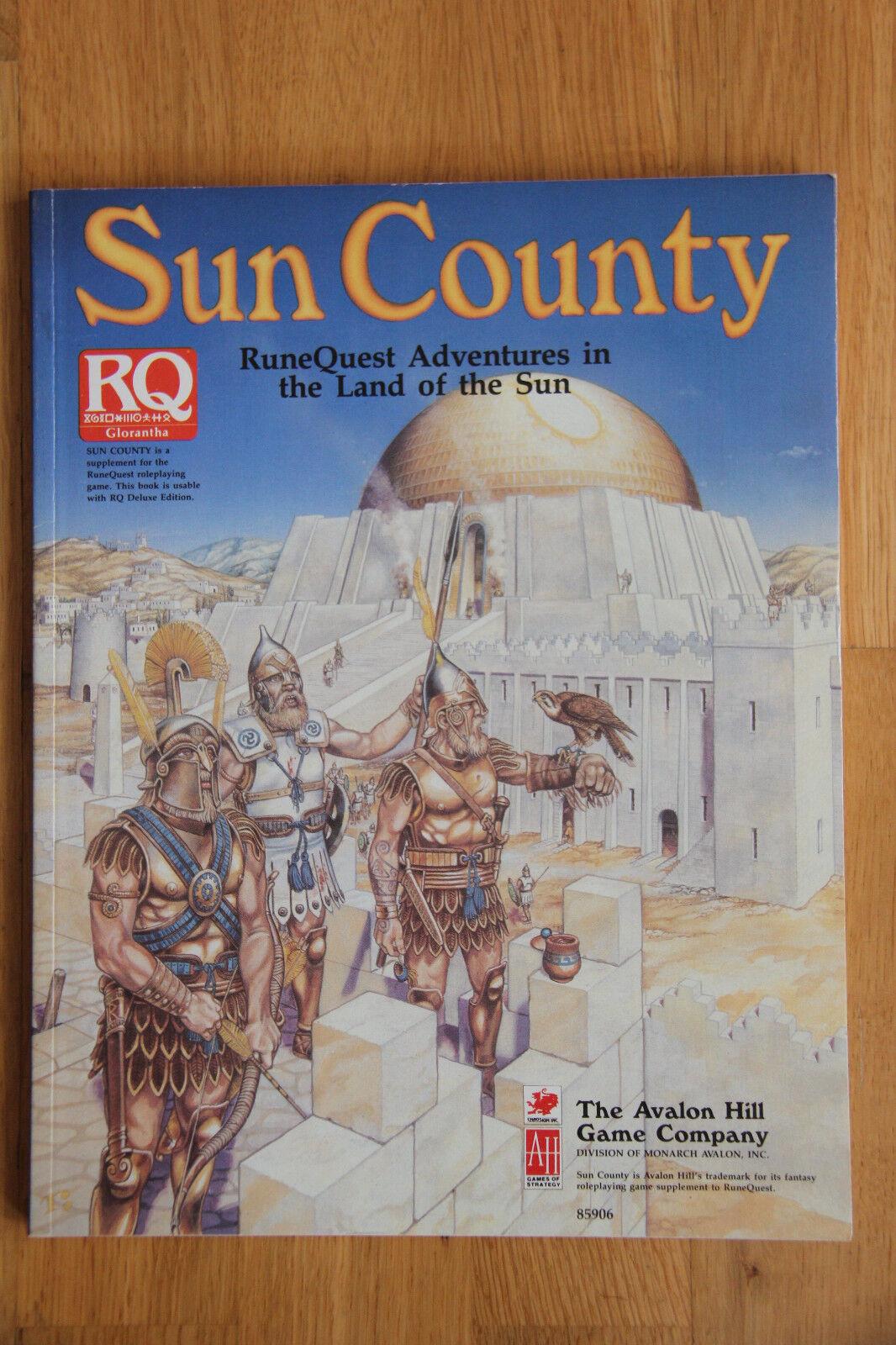 Avalon Hill - RuneQuest 3rd ed. - Sun County (1992)