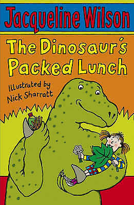 1 of 1 - NEW  The DINOSAUR'S PACKED LUNCH by JACQUELINE WILSON