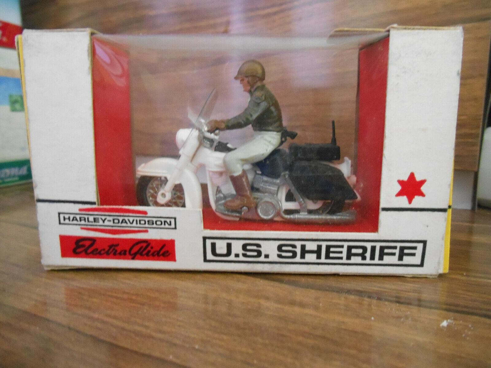 Harley Davidson Electra Glide U.S. SHERIFF – BRITAINS LTD. 1960s 1 32e 9692