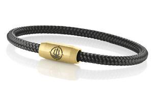 Seemannsgarn Maritimes Segeltau Armband Fohr Schwarz 4mm Ebay