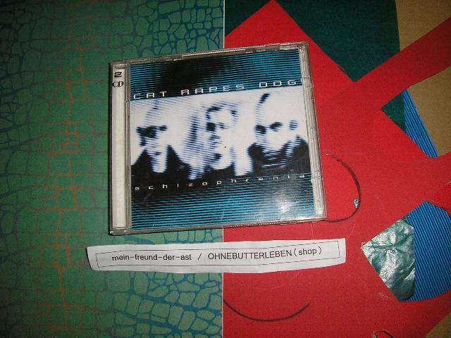 CD EBM Cat Rapes Dog Schizophrenia Double Album KK REC