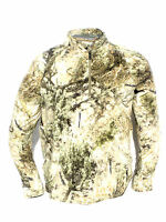 Cabela's Microfleece 1/4 Zip Zonz Western Or Woodlands Hunting Pullover Jacket