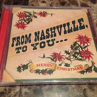 Country Christmas CD From Nashville to You Merry Christmas Chesney Paisley New