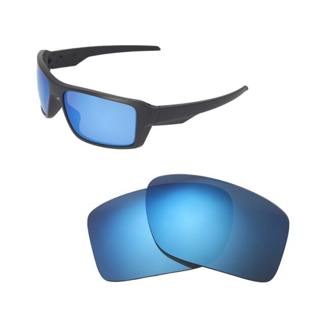 99b56188246 Walleva Ice Blue Polarized Replacement Lenses For Oakley Double Edge  Sunglasses