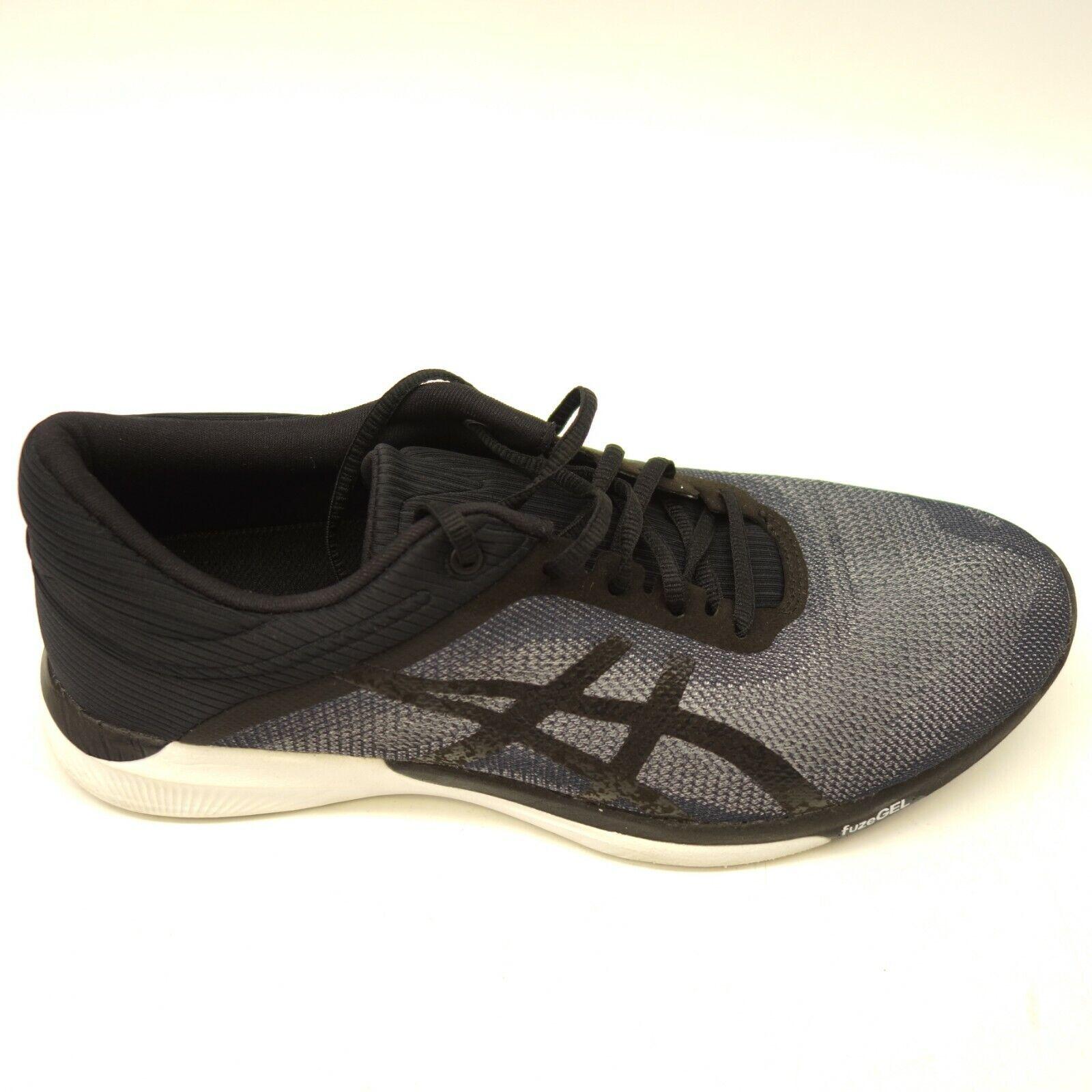 Asics FuzeX Rush Adapt US 8 EU 40 Black Athletic Running Training Womens shoes