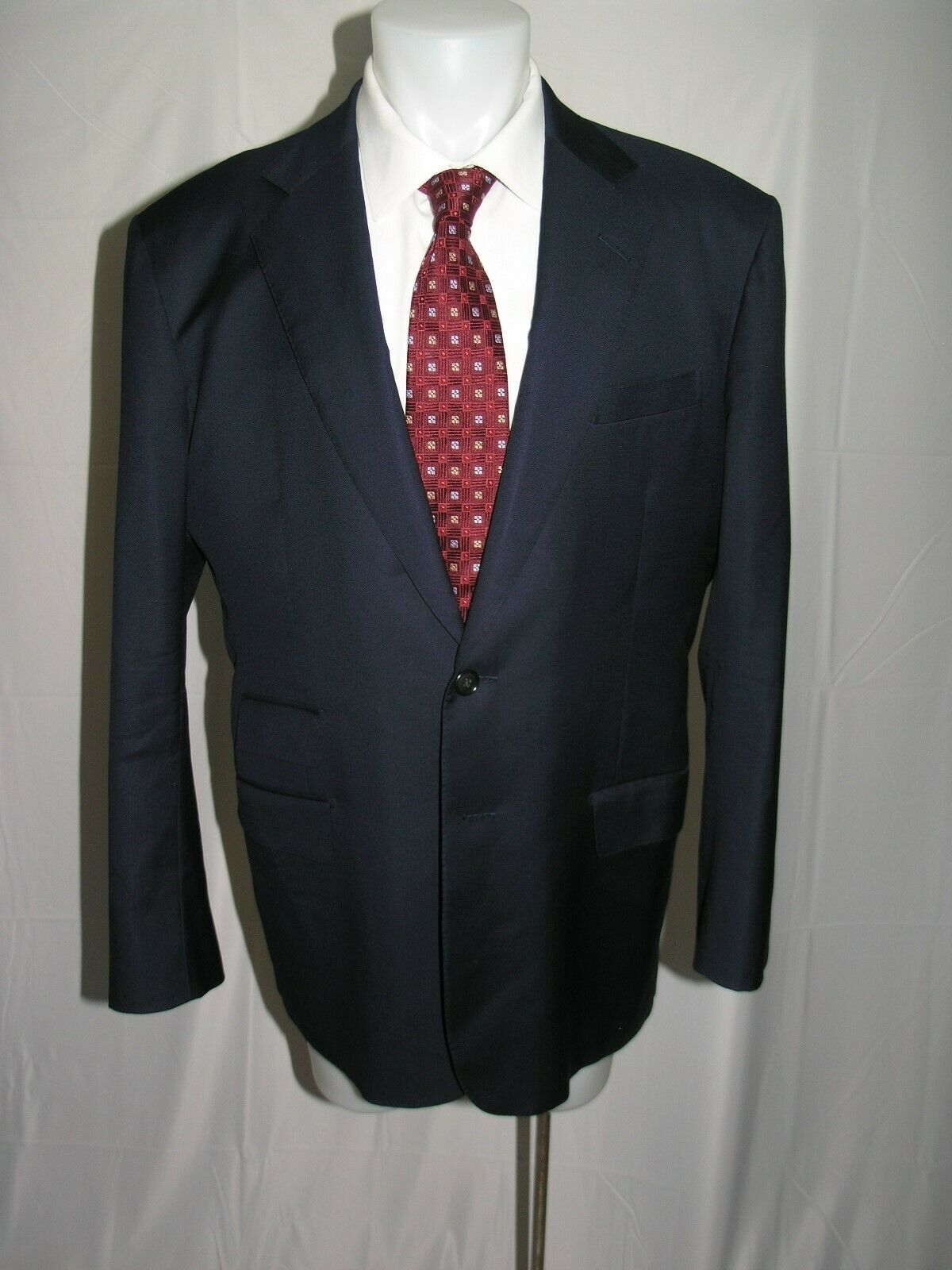 Whitcomb Shaftesbury Savile Row Two Button Bespoke Blazer 46L